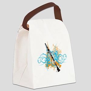 Urban Clarinet Canvas Lunch Bag