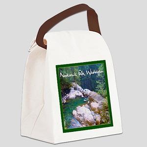 tile058 Canvas Lunch Bag
