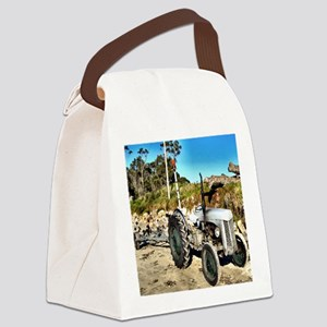tile022 Canvas Lunch Bag