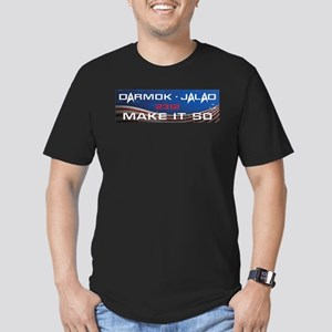 Darmok and Jalad Men's Fitted T-Shirt (dark)