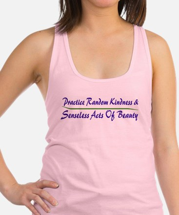 Cute Random acts of kindness Racerback Tank Top