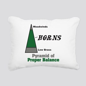Proper Balance Rectangular Canvas Pillow