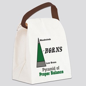Proper Balance Canvas Lunch Bag