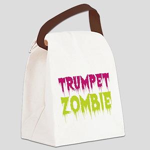 Trumpet Zombie Canvas Lunch Bag