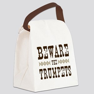Beware the Trumpets Canvas Lunch Bag