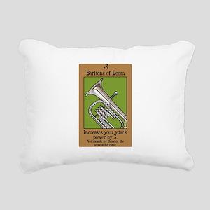 Baritone of Doom Rectangular Canvas Pillow