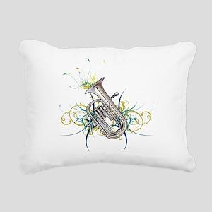 Confetti Baritone Rectangular Canvas Pillow