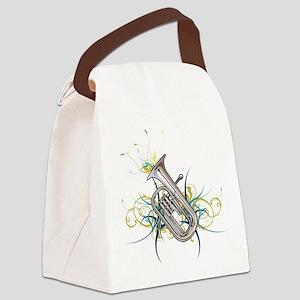 Confetti Baritone Canvas Lunch Bag