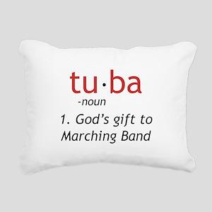 Tuba Definition Rectangular Canvas Pillow