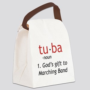 Tuba Definition Canvas Lunch Bag