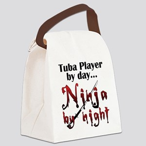 Tuba Ninja Canvas Lunch Bag