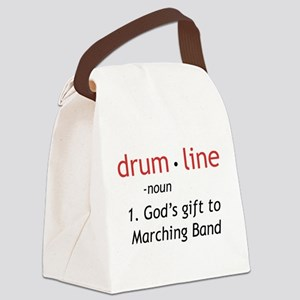 Definition of Drumline Canvas Lunch Bag