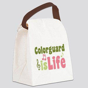 Colorguard is Life Canvas Lunch Bag