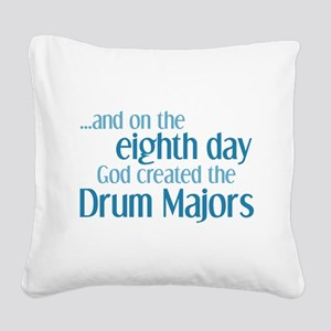Drum Major Creation Square Canvas Pillow