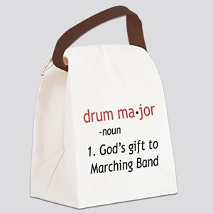 Definition of Drum Major Canvas Lunch Bag