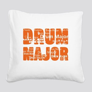 Drum Major Square Canvas Pillow