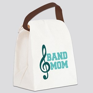 Treble Clef Band Mom Canvas Lunch Bag