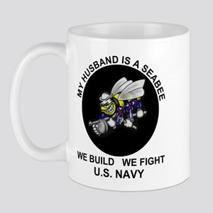 Seabee Husband U.S. Navy Mug