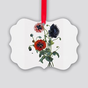poppies-14x10-300px Picture Ornament