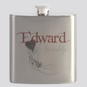 Sparkly Edward Flask