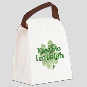 Kiss Me, I'm Irish Canvas Lunch Bag