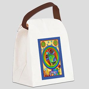 celtic_card1 Canvas Lunch Bag