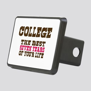College Rectangular Hitch Cover