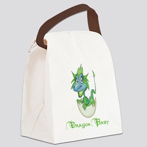 Dragon Baby Canvas Lunch Bag
