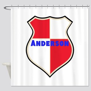 Personalized shield Shower Curtain