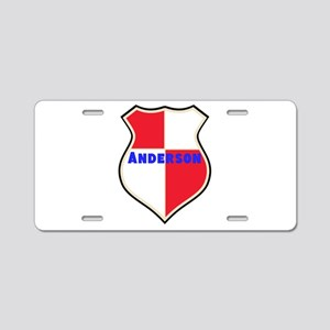 Personalized shield Aluminum License Plate