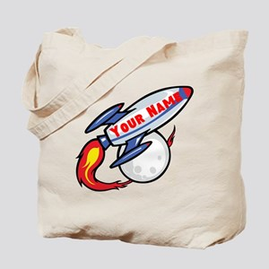 Personalized rocket Tote Bag