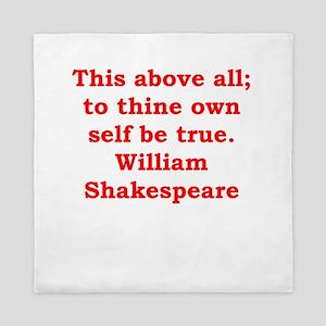 william shakespeare Queen Duvet