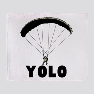 YOLO Throw Blanket