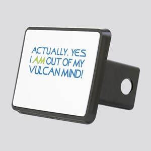 Out of My Vulcan Mind Rectangular Hitch Cover