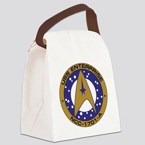 Enterprise 1701-A Canvas Lunch Bag