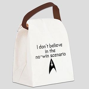 No-Win Scenario Canvas Lunch Bag