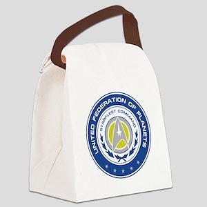 Starfleet Command Canvas Lunch Bag