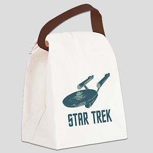 Retro Enterprise Canvas Lunch Bag