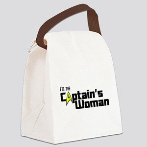 The Captain's Woman Canvas Lunch Bag