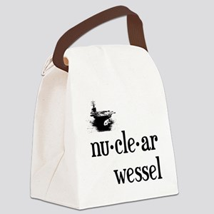 Nuclear Wessel Canvas Lunch Bag
