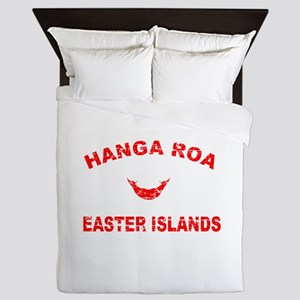 Hanga Roa Easter Islands Designs Queen Duvet