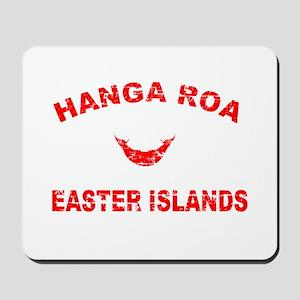 Hanga Roa Easter Islands Designs Mousepad