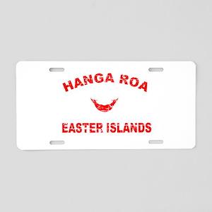 Hanga Roa Easter Islands Designs Aluminum License