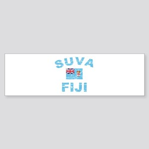 Suva Fiji Designs Sticker (Bumper)