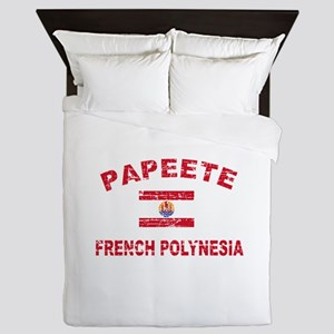 Papeete French Polynesia Designs Queen Duvet