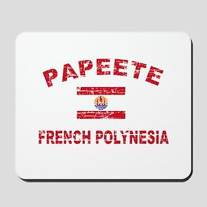 Papeete French Polynesia Designs Mousepad