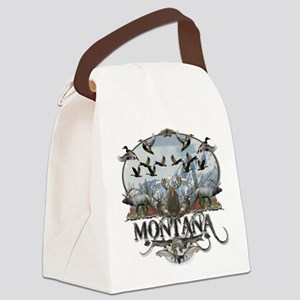 Montana wildlife Canvas Lunch Bag