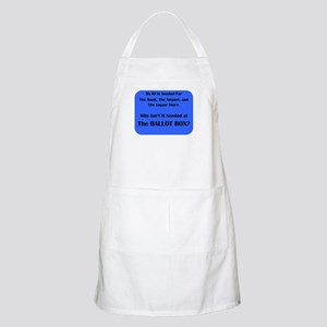 Voter ID Required Apron