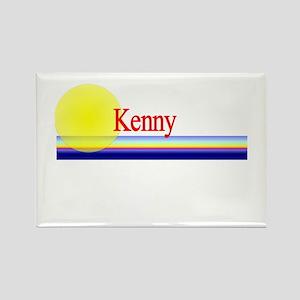 Kenny Rectangle Magnet
