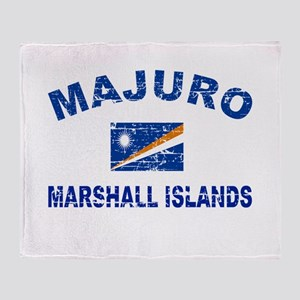 Majuro Marshall Islands Designs Throw Blanket